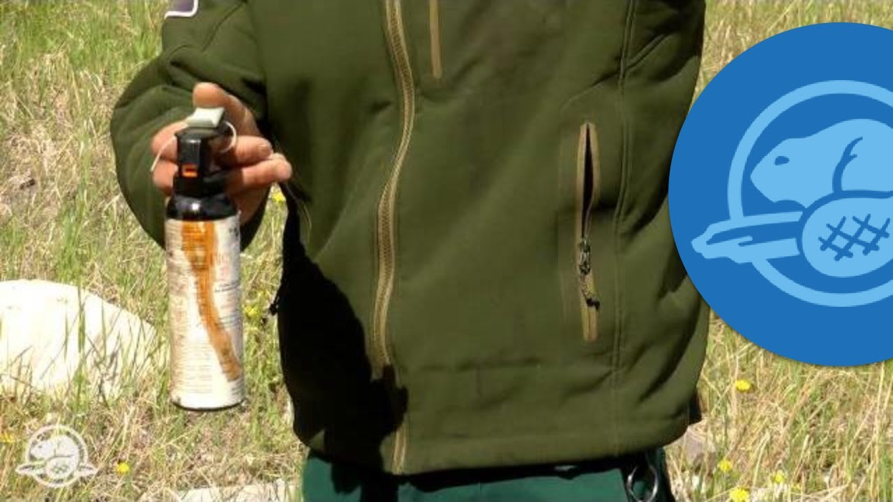 How to Use Bear Spray - Banff National Park