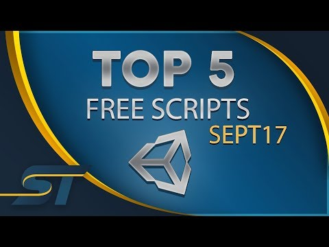 Top 5 Free Unity Assets - Scripting - September 2017