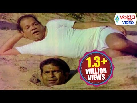 #Brahmanandam and Suthi Veerabhadra Rao Comedy Scenes - Volga Videos