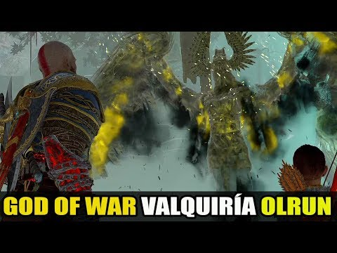 "GOD OF WAR ""EXTRAS"" KRATOS E ATREUS X VALQUÍRIA OLRUN"