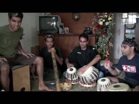 Tabla Cajon Didgeridoo Solo