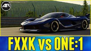 Forza 6 : FERRARI FXXK vs KOENIGSEGG ONE:1!!!