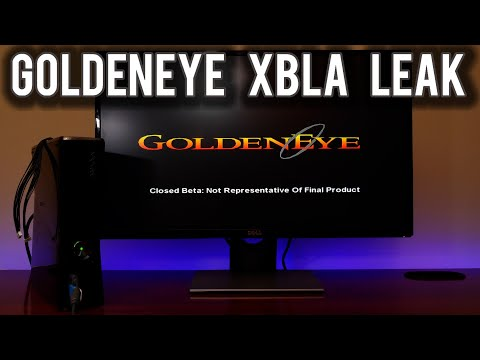 Goldeneye 007 XBLA for the Xbox 360 has leaked | MVG
