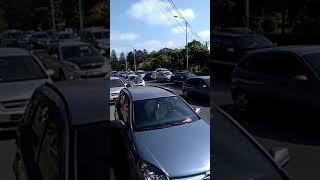 Trafic blocat dupa un carambol in zona Metro - 27 august 2018