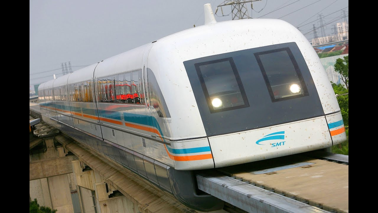 """WORLDS FASTEST TRAINS - MAGLEV """"capable"""" of 3,500 km/h ..."""