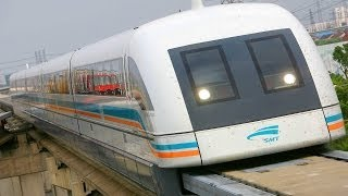 "WORLDS FASTEST TRAINS - MAGLEV ""capable"" of 3,500 km/h"