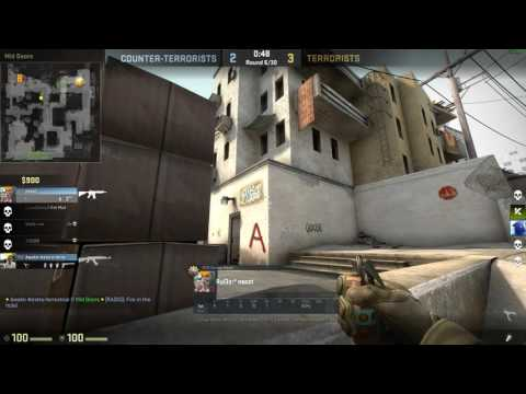 """""""Took Me Enough Time To Turn Up"""" CS-GO Competitive Match Dust II"""