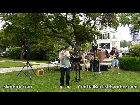 Slim Bob & The New Electrics Brown Bag It With The Arts Bucks County PA Free Concert