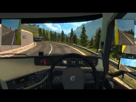 Euro Truck Simulator 2 Multiplayer | Convoy | Zurich - Klagenfurt