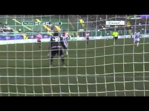 Palermo 0 - 7 Udinese - 4 Goles Alexis Sánchez - 27/02/2011 - Fecha 25