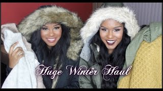 HUGE Winter Clothing Haul 2014   Try On
