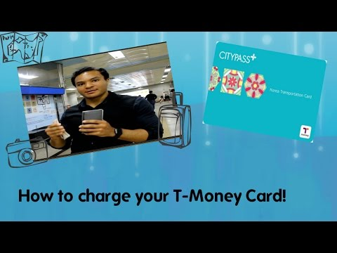 Where to Buy and Fill Up Your T Money Card (Korean Bus/ Subway Card) Feat. James