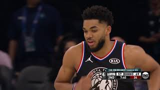 Highlights: Karl-Anthony Towns With 11 Points In 2019 All-Star Game