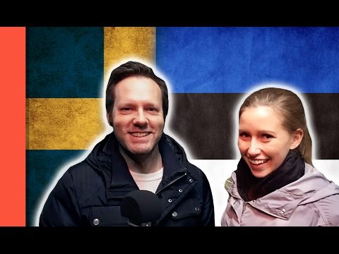 SWEDES TRYING TO SPEAK ESTONIAN - Language challenge feat  Ella Grundel