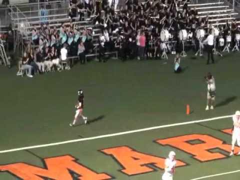 Martinsburg Football Brandon Ashenfelter #5 Highlights