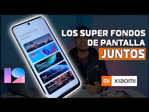 MIUI 12 - LOS SUPER FONDOS DE PANTALLA JUNTOS / Super Wallpaper JUNTOS