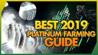 Warframe: FASTEST WAYS TO FARM PLATINUM IN 2019 FREE
