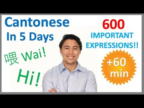 Learn Cantonese in 5 Days - Conversation for Beginners