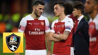 The 2 Robbies discuss Mesut Ozil , Sead Kolasinac's safety | Premier League | NBC Sports