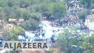 Three Palestinians killed as protests rage over al-Aqsa thumbnail