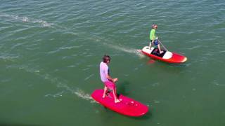 Introducing... The Jetfoiler — Electric Hydrofoil (eFoil)