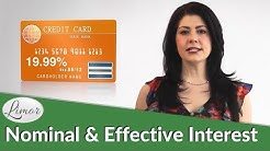 WHAT IS A NOMINAL AND EFFECTIVE INTEREST RATE? | Financially Fabulous