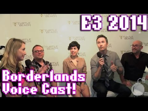 Chat with the voice cast of Borderlands: The PreSequel with Tiny Tina, Handsome Jack and Claptrap