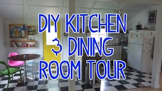 Renovated Barn House Kitchen & Dining Room Tour!