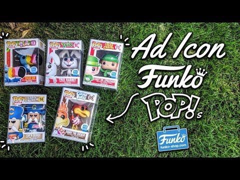 All My Ad Icon Exclusive Funko Pops!