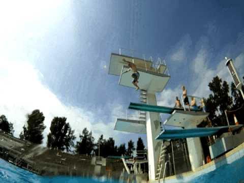 Helsinki Olympic Swimming Stadium Training Kesäloma Edition