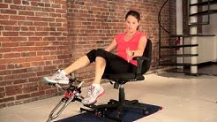 15 Minute Excy Cycle Leg Blast (Recumbent Cycle: High Intensity Interval Training Workout)