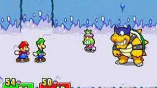 Mario & Luigi vs. Popple & Rookie 2