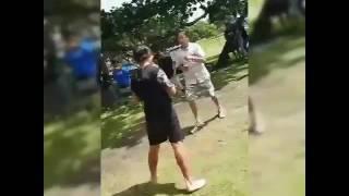 Levin fight blood vs crip