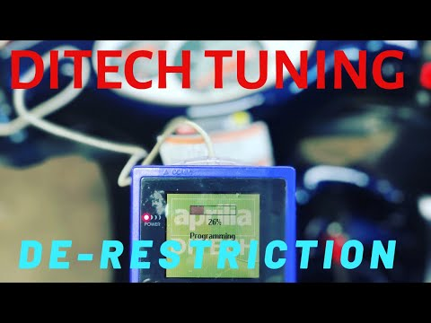 Aprilia DiTech Interface Derestriction Service