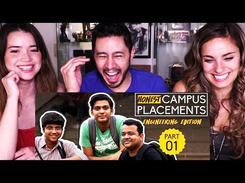 AIB: HONEST ENGINEERING CAMPUS PLACEMENTS | Part 1 | Reaction!