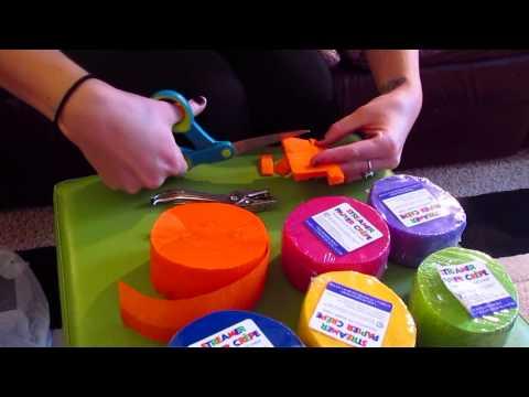Pinterest Designs... Fiesta Party Streamers (Papel Picado)