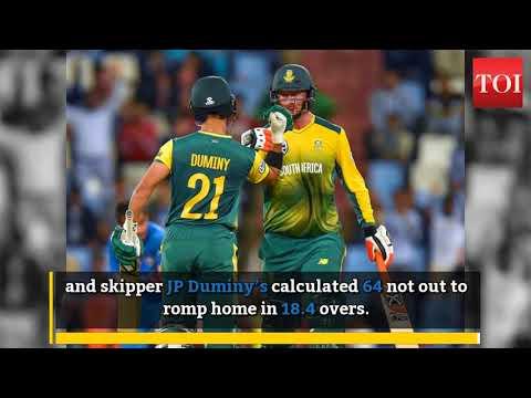 Klaasen, Duminy pummel India to level T20I series