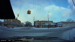 Drive around Iron River, MI January 2017