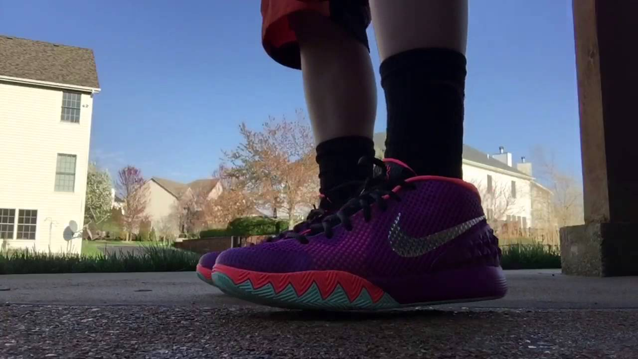 e6ec2907546 Nike Kyrie 1 Easter Review and on Feet - YouTube