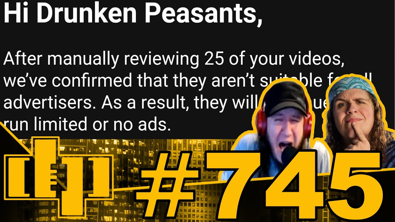YouTube Removes Full Monetization From All DP Videos - Woman Gored by Bison! | DP #745 (NOT LIVE)