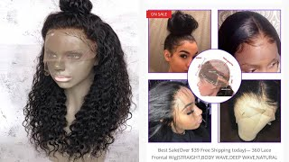360 LACE FRONTAL WIG BOUGHT FROM INSTAGRAM AD (REVIEW)