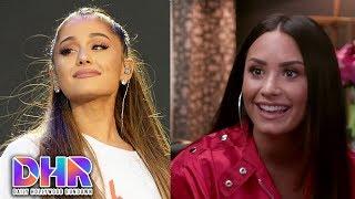 Ariana Grande Falls On Stage - Demi Lovato Lip Syncs Selena Gomez & Taylor Swift (DHR)