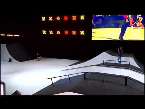 AURELIEN GIRAUD (skate) - Prestation EM01