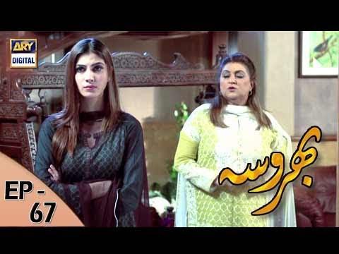 Bharosa Ep 67 - 10th August 2017 - ARY Digital Drama