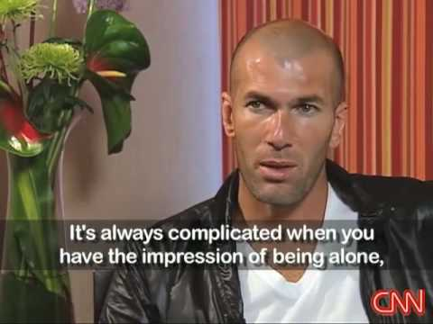 CNN Interview: Zidane talks about playing for the French NT