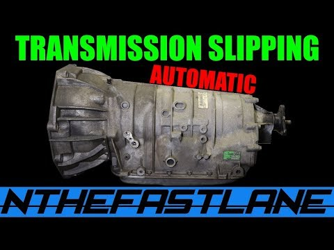 ▶️Automatic Transmission Slipping When Accelerating (7 Reasons Why)🔧