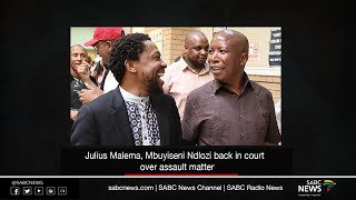 Malema, Ndlozi back in court