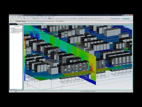 CFD analysis, Datacenter Clarity LC ®