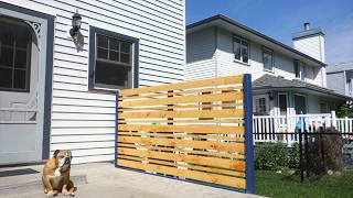 Easy Privacy Screen
