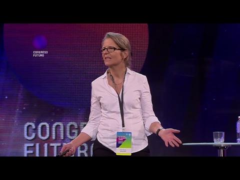 """""""Diseño y Creatividad en la Educación"""" Lotte Stenlev en Congreso Futuro 2017"""